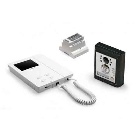 Videofoonset opbouw 4000 serie