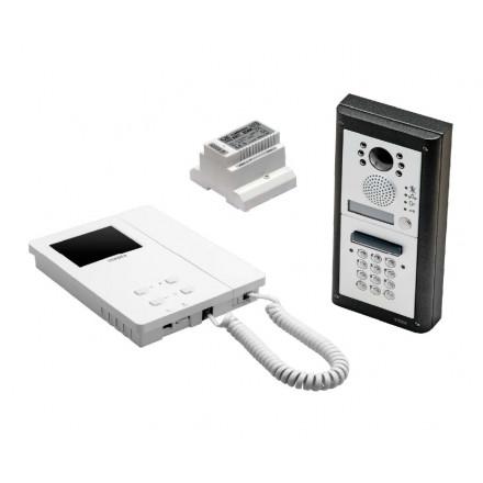 Videofoonset opbouw met codepaneel 4000 / 6K2