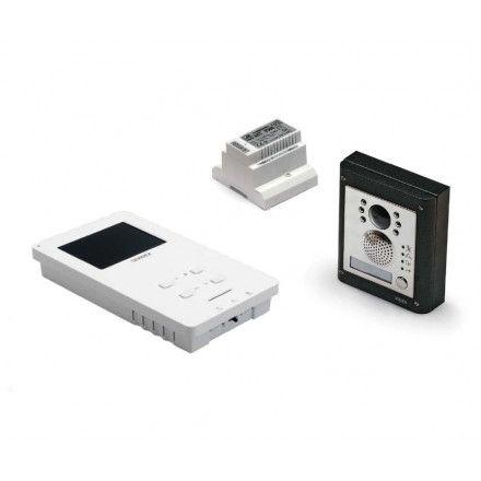 Videofoonset handenvrij inbouw 4000 serie